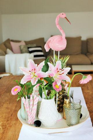 Flamingo Party Diy Deko Ideen Partystories Blog