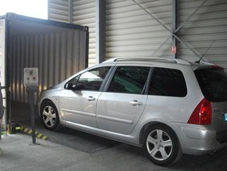 Transport de voiture par conteneur entre la métropole et la Réunion