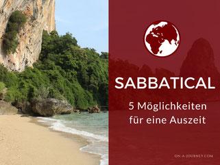 Sabbatical-Möglichkeiten-modelle