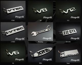 Schlüsselanhänger, DisagrEE, LKW, Truck, Trucker, Sattelzug, Brummi