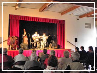 Concert de musique Bluegrass, avec le groupe ligérien Two Days Revival