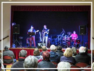 Blueazz en concert, avec Georges Chégut, Salvatore Frau et Xavier Reneaux