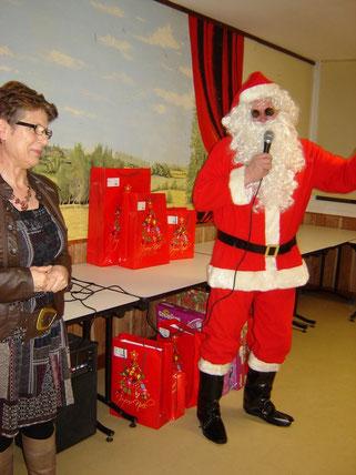 Le Père Noël a donner rendez vous pour l'année prochaine.