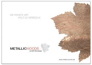 Broschure Metallic Woods Holzoberflachen Der Besonderen Art