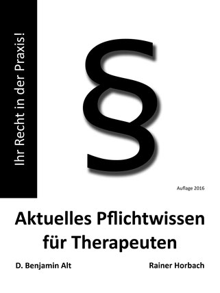 Pflichtwissen für Therapeuten