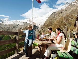Wandern, Wanderferien, Familie, Famiilenferien, Bergsommer, Saas-Fee, Hotel garni & Apartments Domino