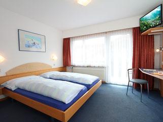 Hotelzimmer Hotel garni Domino Saas-Fee