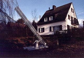 Klassischer W.Reich Cloudbuster, gebaut von J.Trettin, Nürnbrecht