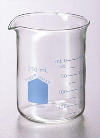 No 70000 Vasos de precipitados PYREX® VISTA ™, grifo estándar bajo