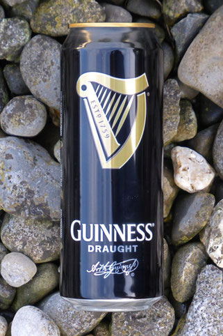 Guinness draught in a can