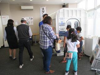 酸素ボックスとマッサージ器の無料体験に興味津々!