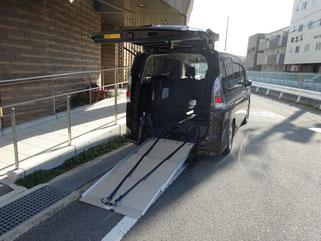 当院の送迎車使用無料