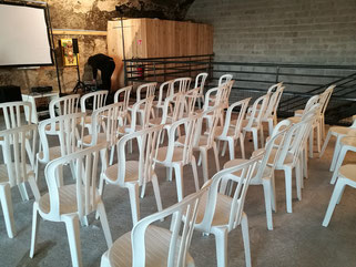 chaises à louer pour séminaire à Marseille