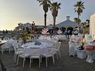 chaise et tables à louer Bar Mitsva Marseille