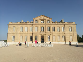 location chaises Château Borély Marseille