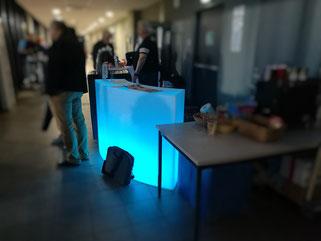 bar lumineux led à louer  à Marseille