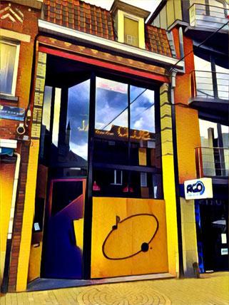 photo de la façade du Club de Jazz à Comines