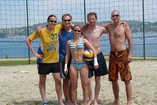 v.l.: Tom, Jabo, Tina, Ben, Sossi