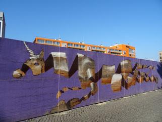 München Werksviertel Graffiti Streetart Street Art Urban Spraypaint Sprayer Streetstyle Streetwriting Loomit Banksy WON ABC HNRX Wurst Bud Spencer Os Gemeos Püreelinie Pfanni O'gsprüht is Stattreisen