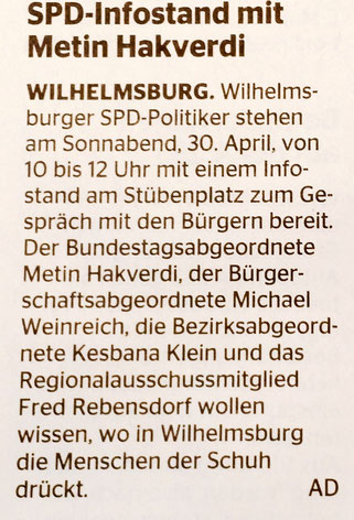 Wochenblatt Wilhelmsburg