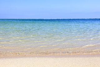 渡嘉敷島の美しいビーチではスノーケリングやスキンダイビングもできます