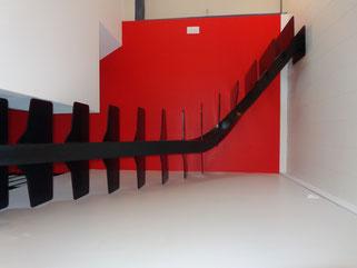 escalier tout métal sur mesure, made in France