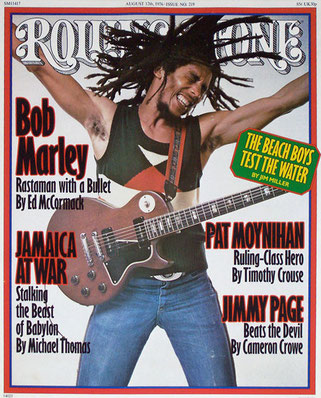 Bob Marley -Annie Leibovitz (1976).
