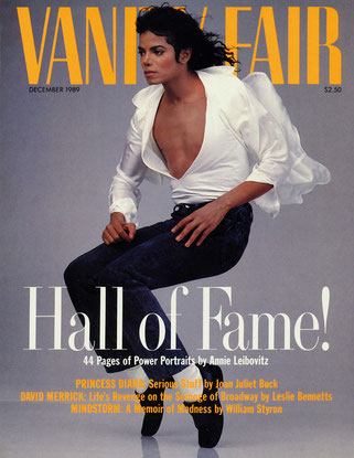 Michael Jackson – Annie Leibovit (1989).