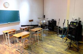 練習スタジオ 音楽室