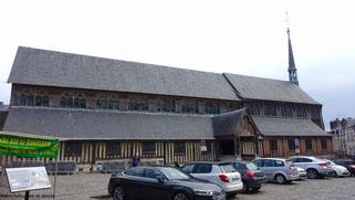 Eglise en bois Sainte Catherine, Honfleu