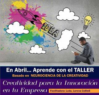 Taller Creatividad para la Innovación en tu Empresa - Locreativa Producciones