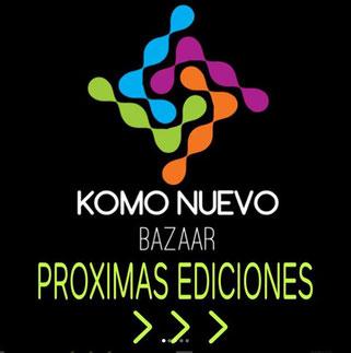 Komo Nuevo Bazaar - Noviembre 2017