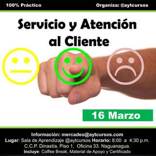 Servicio y Atención al Cliente - A y T Cursos