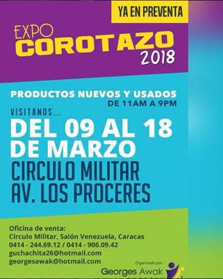 Expo Corotazo 2018 - Georges Awak Eventos