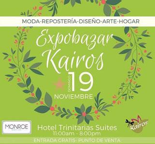 Expo Bazar Kairos - Barquisimeto, noviembre 2017