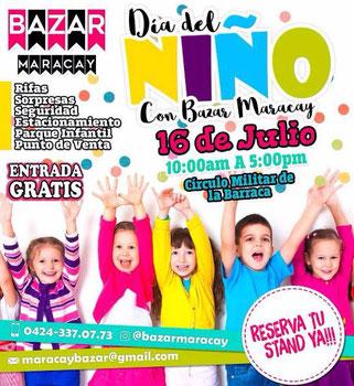 Bazar Maracay - Día del Niño, 7ma Edición
