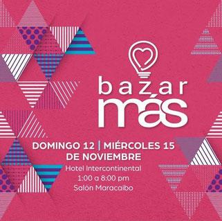 Bazar Más Feria - Noviembre 2017
