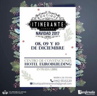 Boutique Itinerante Edición Navidad 2017 - Parafernalia Producciones