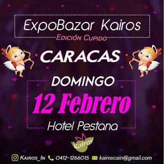 ExpoBazar Kairos - Edición Cupido - Caracas