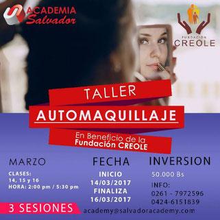Taller Automaquillaje - Academia Salvador