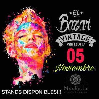 El Bazar Vintage - Noviembre 2017