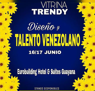 Showroom Diseño y Talento Venezolano - Vitrina Trendy
