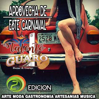 Talento Guaro Bazar & Garage - Edición 2