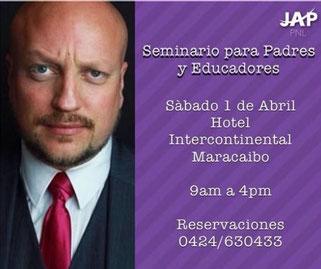 Seminario de PNL para Padres y Maestros - PNL Maracaibo