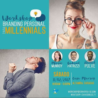 Workshop Branding Personal para Millennials - mm Comunicaciones