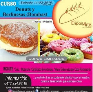 Curso Donuts y Berlinesas - EnpanArte