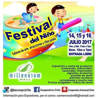 Festival del Niño - Millennium Mall