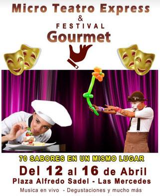 Micro Teatro Express & Festival Gourmet, Bazar Plaza Alfredo Sadel - Grupo Expo Eventos