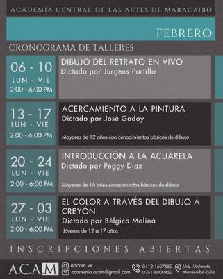 Talleres A.C.A.M - Febrero 2017