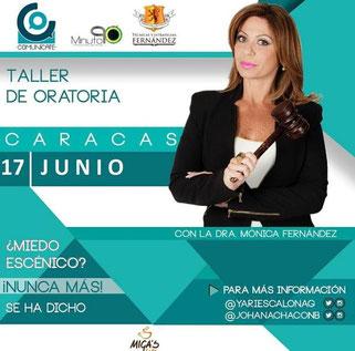 Taller de Oratoria - Dra. Mónica Fernández
